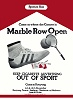 Marble Row Open poster